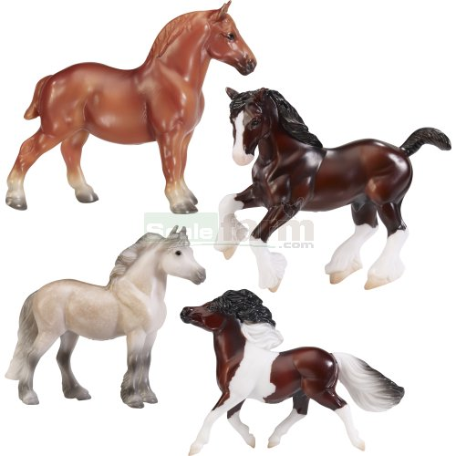 Best of British - 4 Horse Set (Breyer 9176)