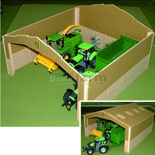 Basics Wooden Single Bay Shed (Brushwood BB9000)