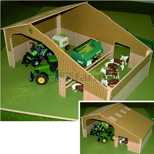 Basics Wooden Two Bay Shed (Brushwood BB9100)