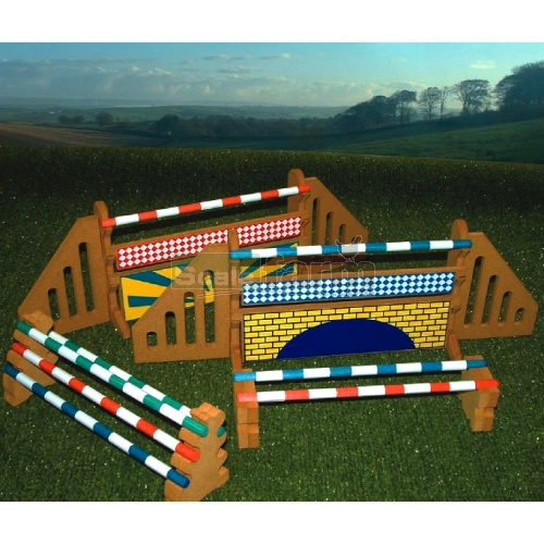 Show Jump And Training Block Set (Brushwood BT1020)