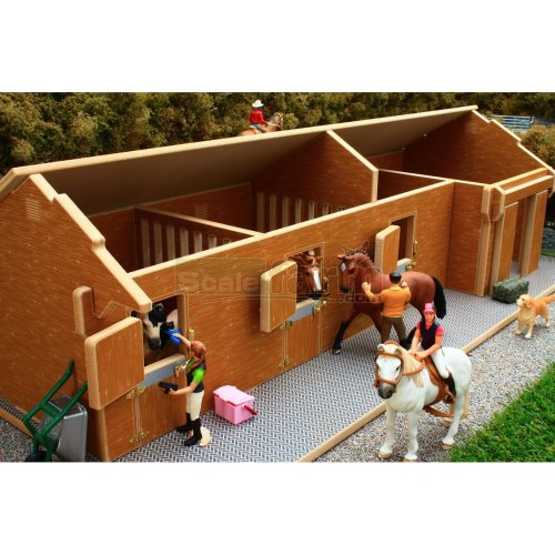 Stable Block and Tack Room (Brushwood BT1600)