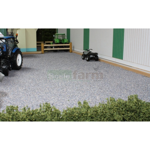 Ballast Mat - Light Grey (Brushwood BT2084)