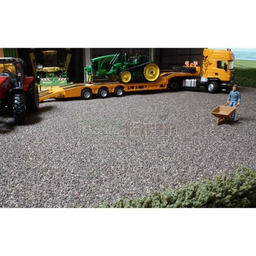 Ballast Mat - Dark Grey (Brushwood BT2085)