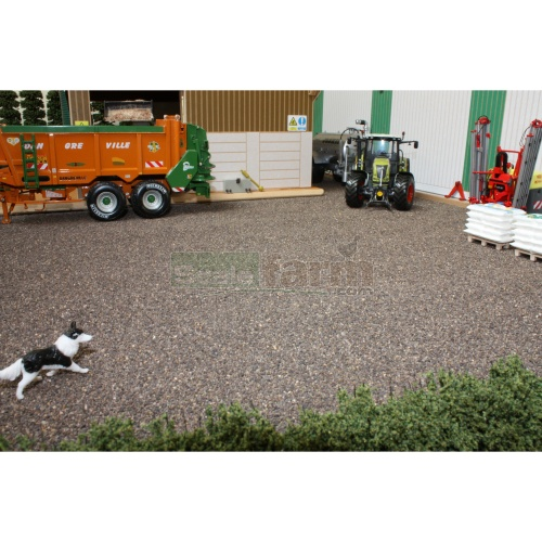 Ballast Mat - Dark Brown (Brushwood BT2087)