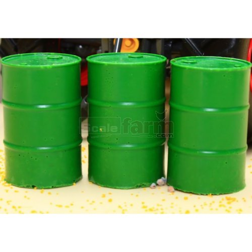 Barrels - Green (3 Pieces) (Brushwood 3050)