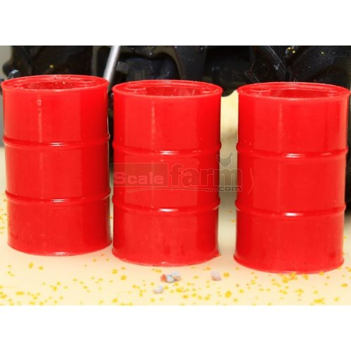 Barrels - Red (3 Pieces) (Brushwood 3051)