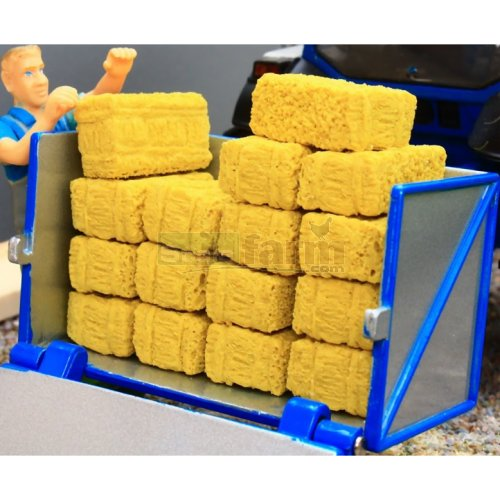 Small Square Bales (16 Pieces) (Brushwood 3053)