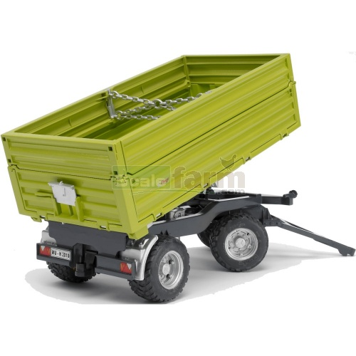 Fliegl Three Way Dumper with Removeable Top (Bruder 02203)