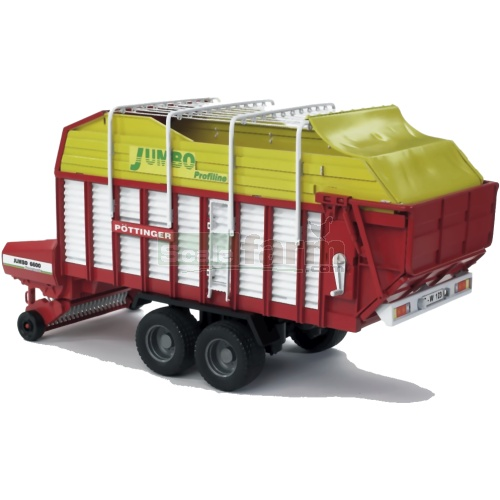 Pottinger Jumbo 6600 Profiline Forage Trailer (Bruder 02214)