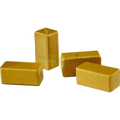 Hay Bales Rectangular (Pack of 4) (Bruder 02342)