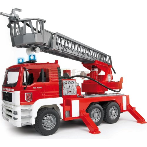 MAN Fire Engine With Water Pump And Lights And Sound Module (Bruder 02771)