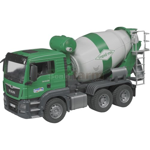 MAN TGS 26.500 Cement Mixer (Bruder 03710)