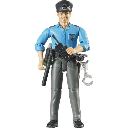 bWorld Policeman with Accessories (Bruder 60050)