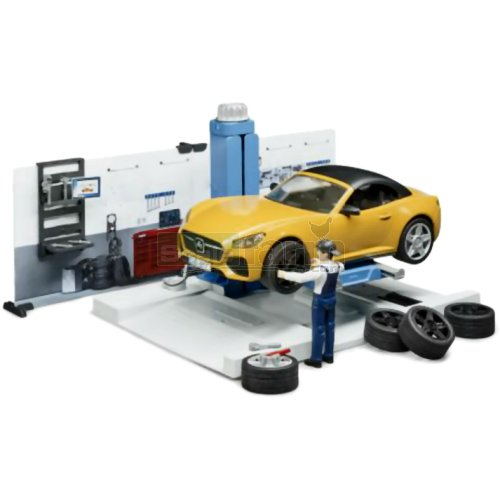 bWorld Car Service Workshop Set (Bruder 62110)