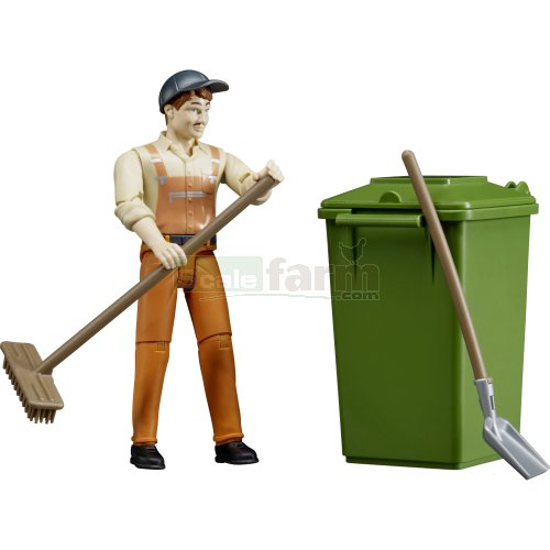 Binman Figure and Accessories Set (Bruder 62140)