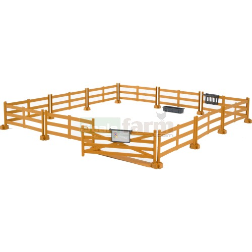 bworld Pasture Fencing - brown (Bruder 62604)