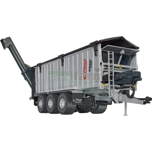 Fliegl ASW 391 Push-Off Trailer with Overhead Loading Auger (Wiking 7317)