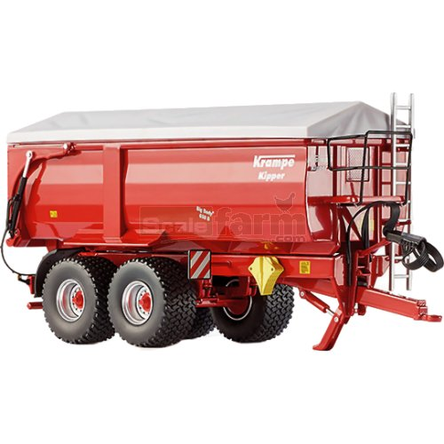 Krampe 650S Big Body Rear / Side Tipper Trailer (Wiking 7335)