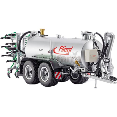 Fliegl VFW 18.000L Profiline Vacuum Tanker with  GUG 6m Slurry Plow (Wiking 7338)