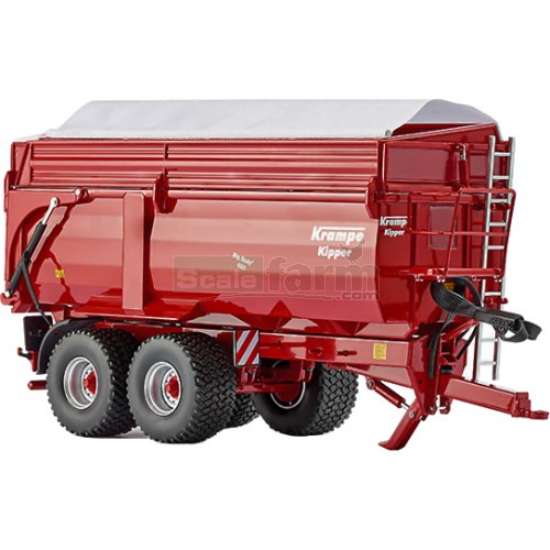 Krampe Big Body 650 Tipping Trailer (Wiking 7339)
