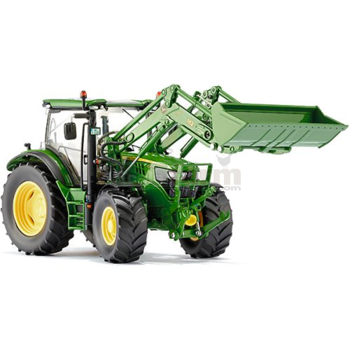 John Deere 6125 Tractor with Front Loader (Wiking 7344)