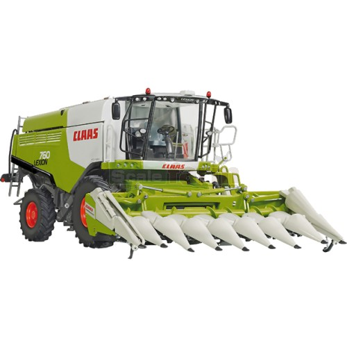 CLAAS Lexion 760 Combine Harvester with Conspeed Corn Header (Wiking 77340)