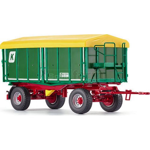 Kroger Agroliner 3-Way Tipping Trailer (Wiking 7827)