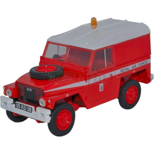 Land Rover 1/2 Ton Lightweight - RAF (Red Arrows) (Oxford 43LRL003)