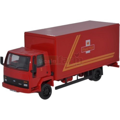 Ford Cargo Box Van - Royal Mail (Oxford 76FCG004)