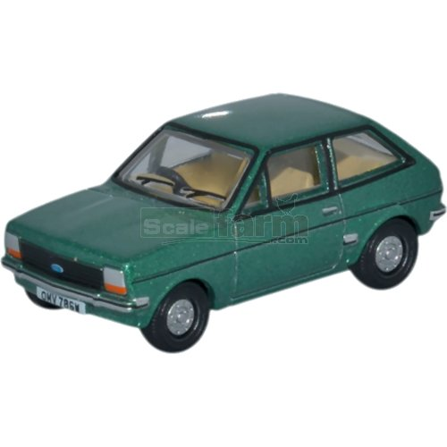 Ford Fiesta Mk1 - Jade Green (Oxford 76FF005)