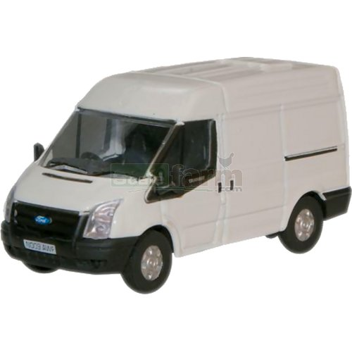 Ford Transit (New) Medium Roof - Frozen White (Oxford 76FT001)