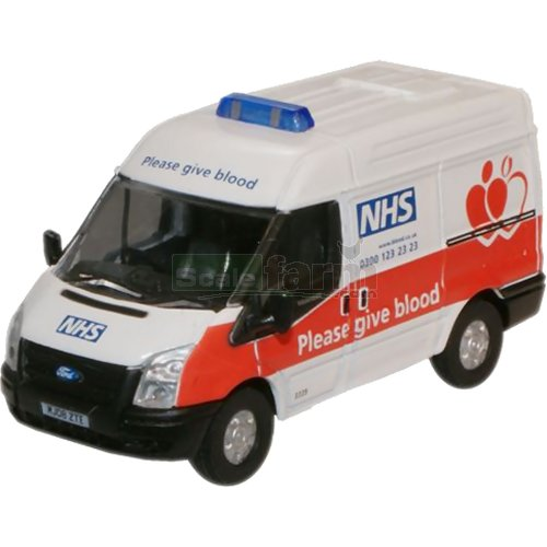 Ford Transit SWB Medium High Roof - NHS Blood Donor (Oxford 76FT008)
