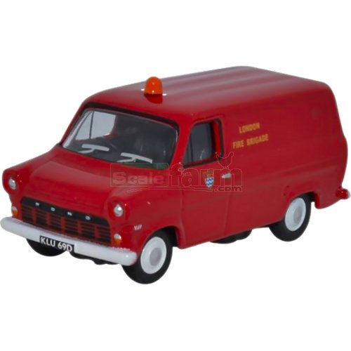 Ford Transit Mk1 - London Fire Brigade (Oxford 76FT1003)
