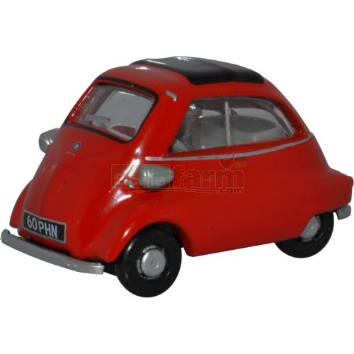 BMW Isetta - Signal Red (Oxford  76IS001)
