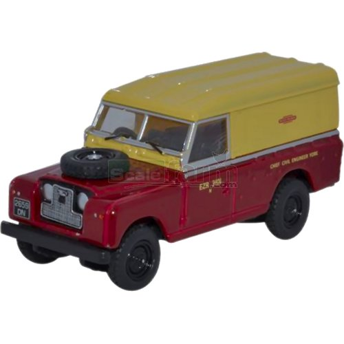 Land Rover Series II Hard Back - British Railways (Oxford 76LAN2014)
