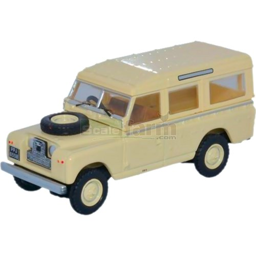 Land Rover Series II LWB Station Wagon - Limestone (Oxford 76LAN2019)