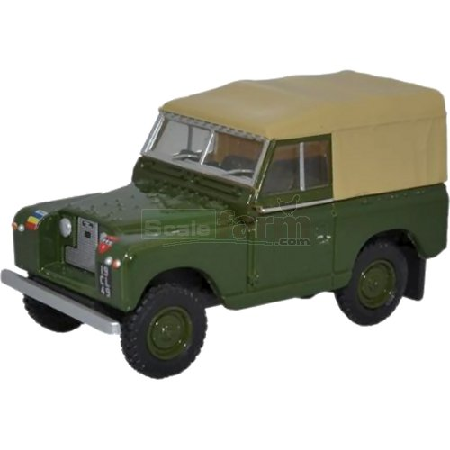 Land Rover Series II SWB Canvas - REME (Oxford 76LR2S006)