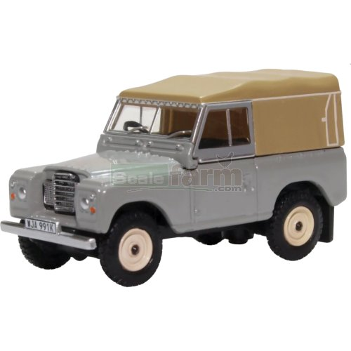 Land Rover Series III Canvas - Mid Grey (Oxford 76LR3S003)