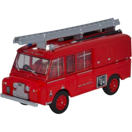 Land Rover FT6 Carmichael - Army Fire Service (Oxford 76LRC004)
