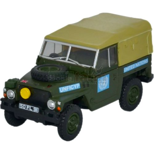 Land Rover 1/2 Ton L/W - United Nations (Oxford 76LRL001)