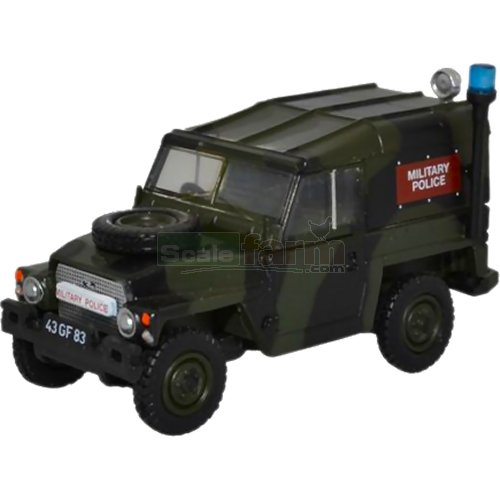 Land Rover 1/2 Ton Lightweight - Military Police (Oxford 76LRL002)