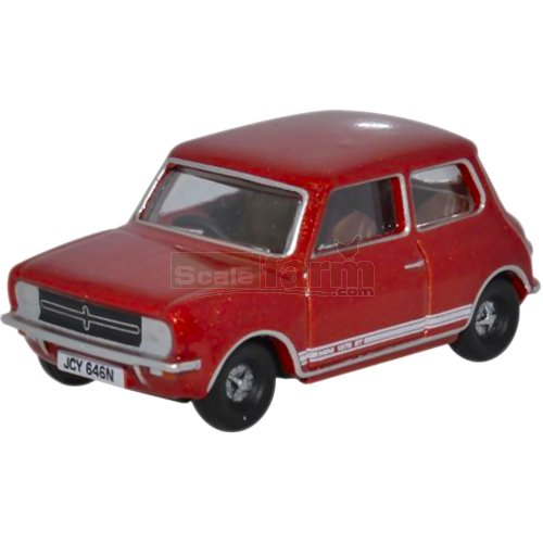 Classic Mini 1275GT - Reynard Red (Oxford 76MINGT001)
