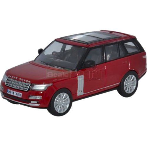 Range Rover Vogue - Firenze Red (Oxford 76RAN003)