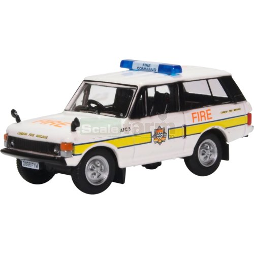 Range Rover Classic - London Fire Brigade (Oxford 76RCL004)