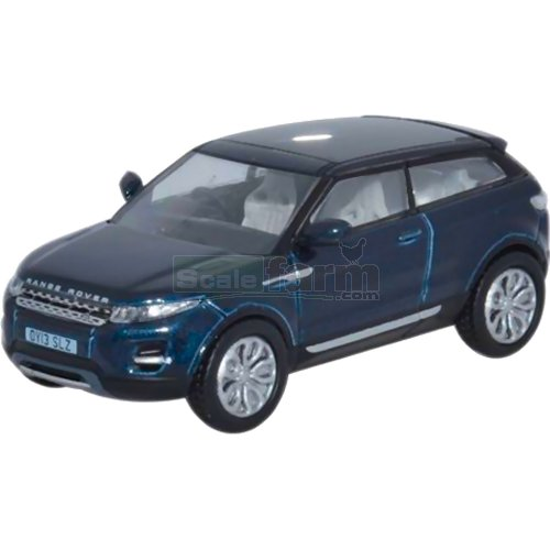 Range Rover Evoque 2 Door Coupe - Baltic Blue (Oxford 76RR003)