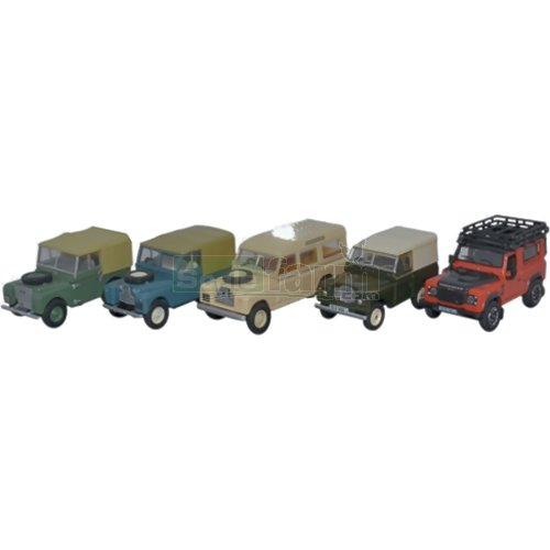 Land Rover Classic 5 Piece Set (Oxford 76SET55)