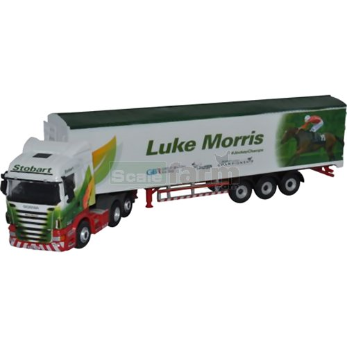 Scania Highline - Stobart (Luke Morris) (Oxford 76SHL13WF)