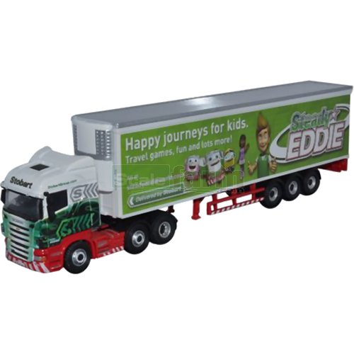Scania Highline Fridge - Steady Eddie (Oxford 76SHL16FR)