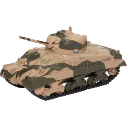 Sherman Tank MK III - 10th Armoured Division (Oxford 76SM001)