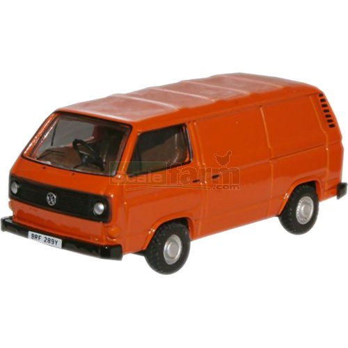 VW T25 Van - Orange (Oxford 76T25004)